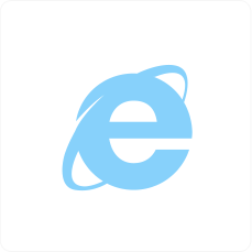 Internet Explorer browser icon